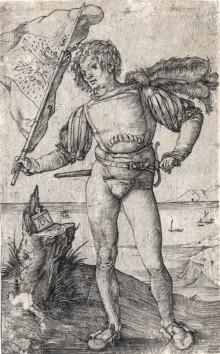 El portaestandarte, c. 1501