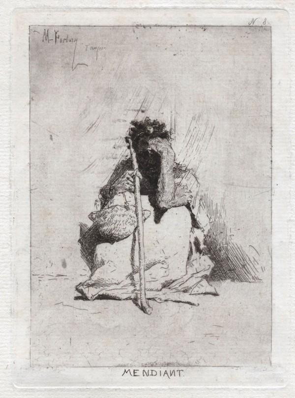 Mendiant, c. 1862