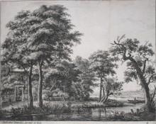 La granja al lado del agua, c. 1650