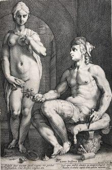 Pigmalión y Galatea, 1593