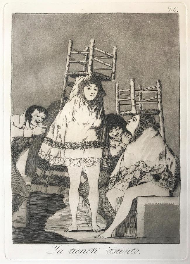 Ya tienen asiento, 1799