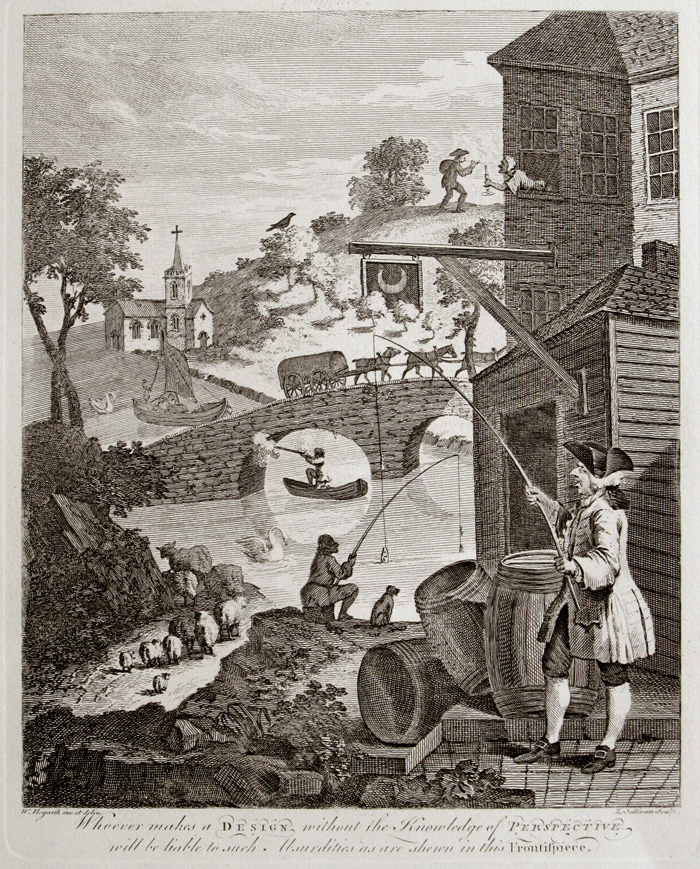 Falsa perspectiva. c. 1754