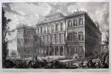 Veduta del Palazzo Barberini, c. 1769