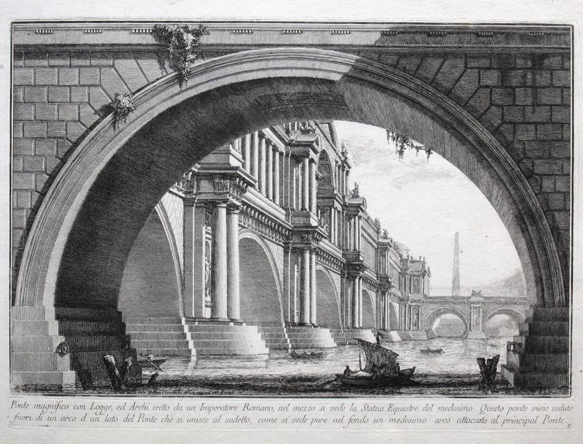Ponte magnifico, 1743