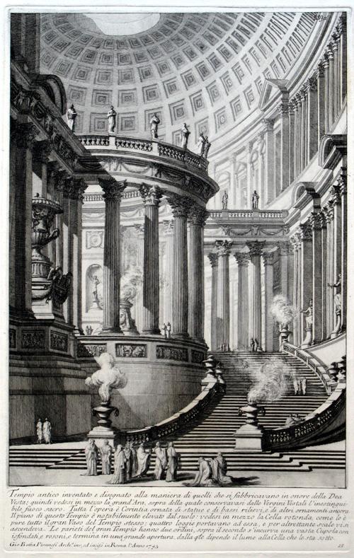 Tempio antico, 1743