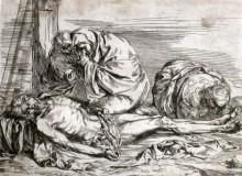Lamentación sobre el cuerpo de Cristo muerto, c. 1620-21