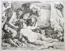 Sileno borracho, 1628
