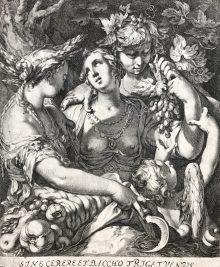 La alianza de Venus, con Baco y Ceres, ca. 1600
