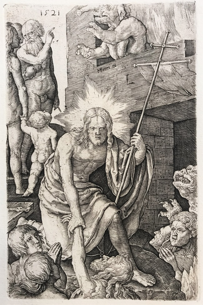 Cristo en el limbo, 1521