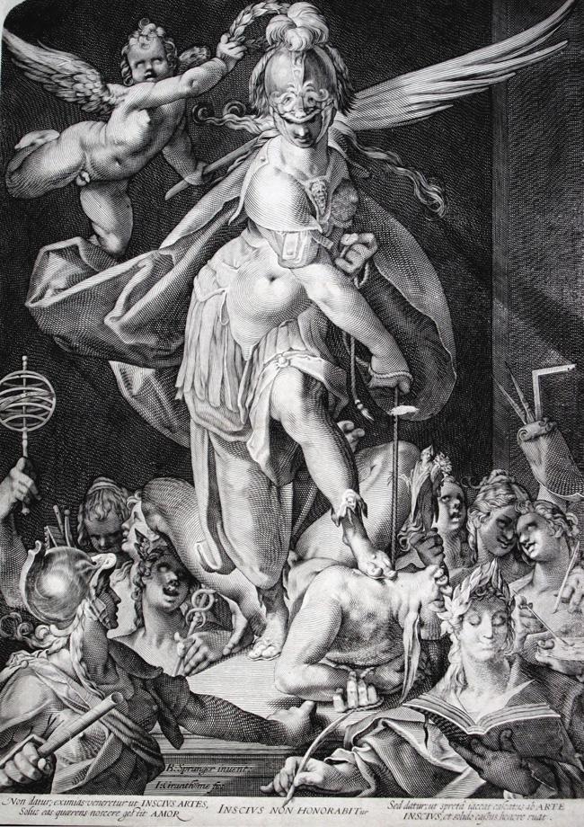 La Sabiduría vence a la Ignorancia, c. 1600