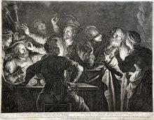 Las negaciones de Pedro, ca. 1635
