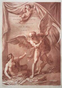 El Arte del Dibujo y del Grabado detienen al Tiempo, 1778