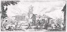 Soldados saqueando una aldea, ca. 1632-1635