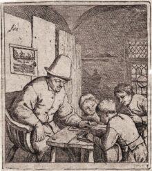 El maestro de escuela, c. 1644