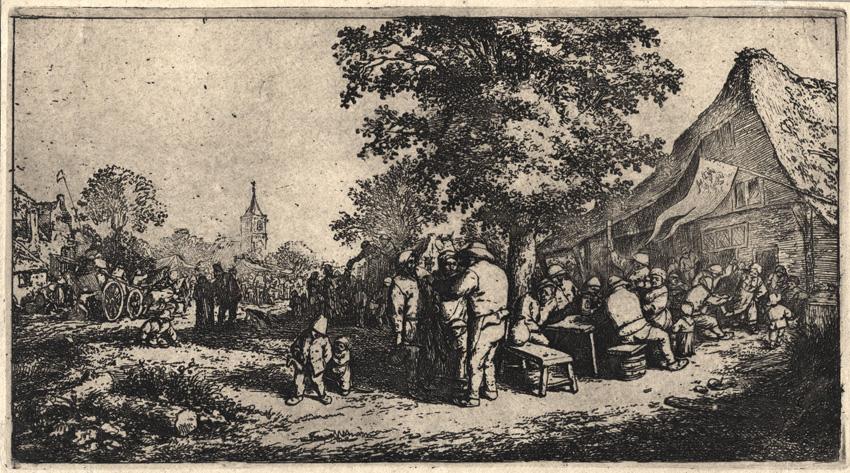 La fiesta, c. 1660