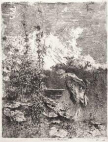 El botánico o L'Amateur des jardins, c. 1869