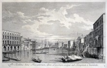 Vista de Venecia (Ab Aedibus hinc Foscarorum..), 1742.