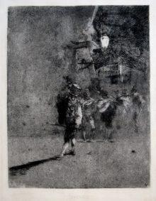 La serenata, c. 1863-1865