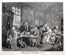 Matrimonio a la moda (El contrato matrimonial), 1745