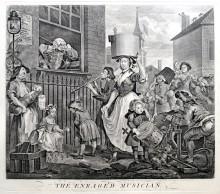 El músico enfurecido, 1741