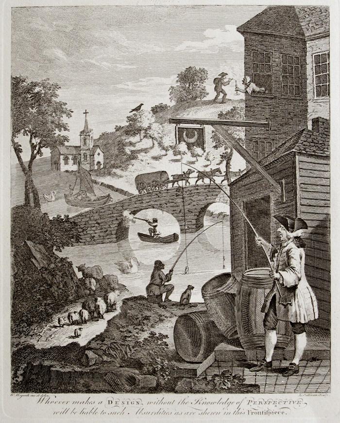 Falsa perspectiva. c. 1754