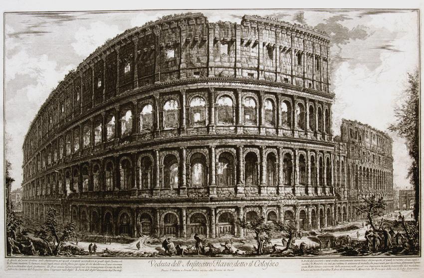 Vista del Coliseo, 1757