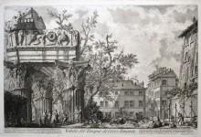 Veduta del Tempio di Giove Tonante, 1756