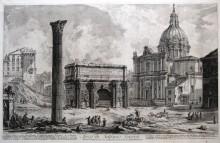 Arco de Septimio Severo, 1759