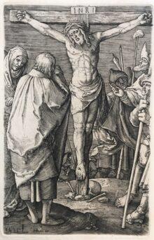 Cristo en la cruz, 1521