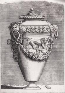 Jarrón con león, 1531