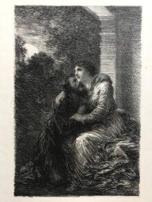 """Duo de amor, 1886. De """"Lohengrin"""""""