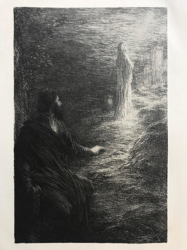 "Wolfram y Elizabeth, 1886. De ""Tannhauser"""
