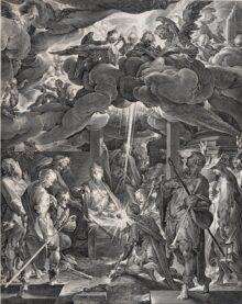La adoración de los pastores, 1606